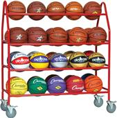 Champion Sports Pro Ball Cart