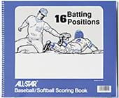ALL-STAR Baseball/Softball Scorebooks