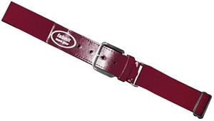 Fabnit Adult Maroon Elastic Baseball Belt Closeout