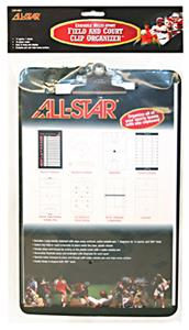 ALL-STAR Multi Sport Erasable Clipboards