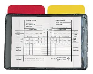 Champion Sports Referee Wallet With Cards &amp; Pad