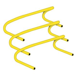 Champion Sports Plastic Speed Hurdles - 6""