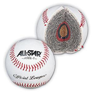 ALL-STAR ASCL-1 Official League Baseballs-Dozen