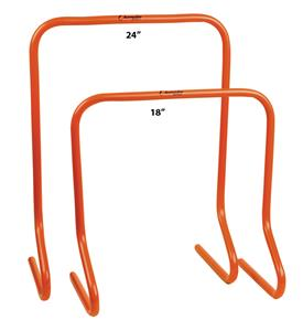 Champion Sports Plastic Speed Hurdles - 18&quot; or 24&quot;