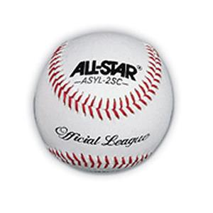 ALL-STAR ASYL-2SC Official League Baseballs-Dozen