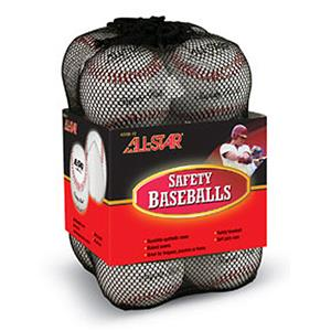 ALL-STAR ASSB-12 Safety Ball Baseballs-12 Per Bag