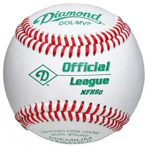 Diamond DOL-MVP NFHS Elite Youth Baseballs C/O