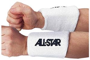 ALL-STAR Foam Padded Sports Wristbands (Pairs)