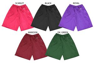 Fabnit Adult 2-ply Mesh Dazzle Shorts Closeout