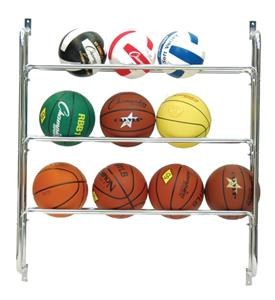 Champion Sports Ball Wall Rack