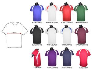 Fabnit Adult Moisture Management Crewneck Shirts