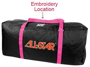 ALL-STAR BBL3 Softball Equipment Bags with Pink
