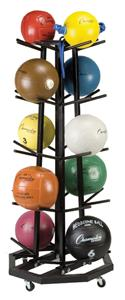 Champion Sports Deluxe Medicine Ball Tree
