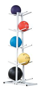 Champion Sports Double Medicine Ball Tree