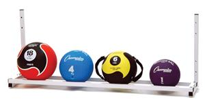 Champion Sports Wall-Mount Medicine Ball Rack