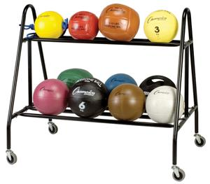 Champion Sports Medicine Ball Storage Cart