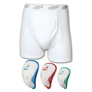 ALL-STAR &quot;Shock Jock&quot; Sports Briefs w/Cup