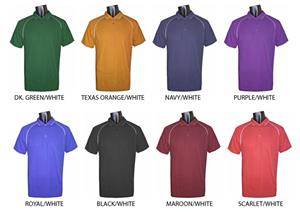 Fabnit Moisture Management 3 Button Polos