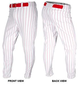 ALL-STAR Adult Pinstriped Hemmed Baseball Pants