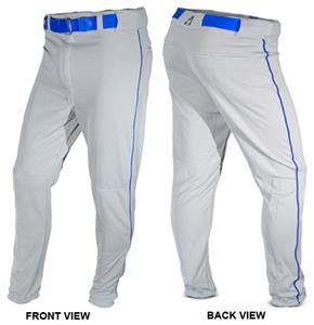 ALL-STAR Hemmed Baseball Pants with Piping
