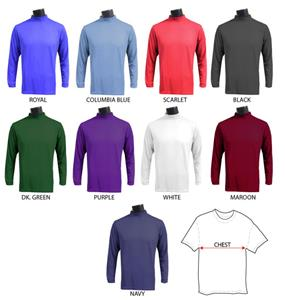 Fabnit Moisture Management Mock Turtleneck Shirts