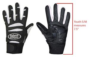 Fabnit Baseball Leather YOUTH Batting Gloves
