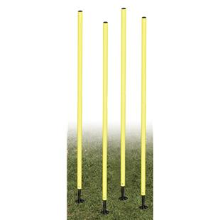 Champion Outdoor Agility Poles Spring Loaded (Set)