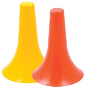 Champion Sports 9&quot; High Agility Cones - Set of 6