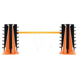 Champion Sports Height Adjusters Hurdle Cone Set