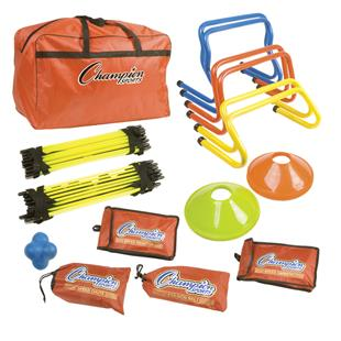 Champion Sports Speed Agility Kit With Carry Bag
