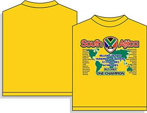 Utopia Sport South Africa Soccer T-shirts