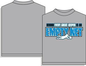 Utopia Soccer Empty Net T-shirt