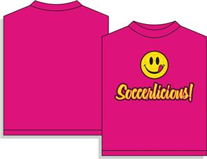 Utopia Soccerlicious Smiley Face T-shirt