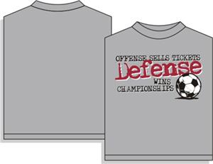 Utopia Soccer Defense Wins T-shirt