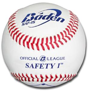 Baden Youth Safety 1 Baseballs (DZ) SAF-1S