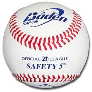 Baden Safety 5 Baseballs (DZ) SAF-5S