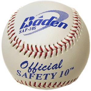 Baden Safety 10 Raised Seam Baseballs (DZ) SAF-10S