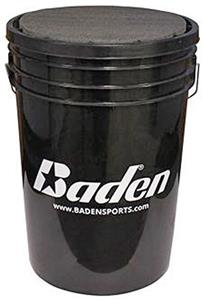 Baden 5 Gallon Bucket/Seat Baseballs Bucket
