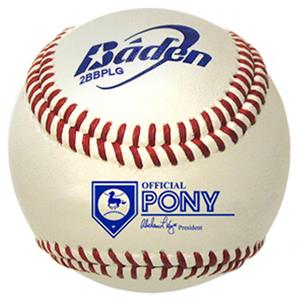 Baden Pony League Baseballs (DZ) 2BBPLG