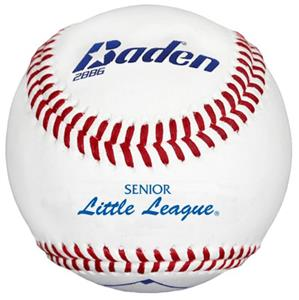 Baden Senior Little League Raised Seam Baseballs