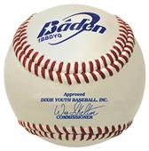 Baden Dixie Boys Youth Raised Seam Baseballs