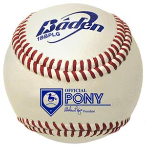 Baden Pony League Youth Raised Seam Baseballs