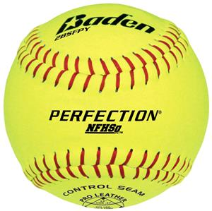 Baden Perfection Series Softballs 2BSFPY