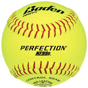Baden Perfection Series Softballs 2BSFPY