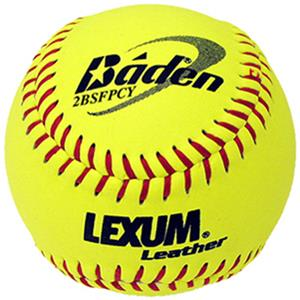 Baden Lexum Fast Pitch NFHS Cork Core Softballs/DZ