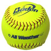 "Baden All-Weather Fast Pitch 11"" Softballs 2BS11SY"