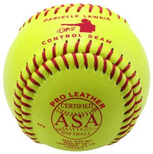 "Baden ASA Fast Pitch Leather 11"" Softballs (DZ)"
