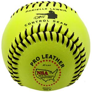 "Baden NSA Fast Pitch Leather 11"" Softballs (DZ)"