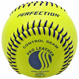 Baden USSSA Fast Pitch Leather Softballs (DZ)