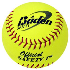 "Baden Sr. Slow Pitch Composite 12"" Softballs (DZ)"